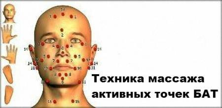 Техника массажа активных точек БАТ (2014/WebRip)