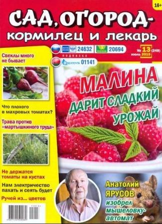 Сад, огород – кормилец и лекарь №13 (Июль /  2015)
