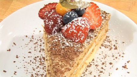 Торт медовик - пошаговый рецепт, видео урок (2010)