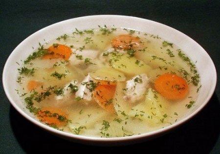 Суп с курицей и имбирем и салат с индейкой (2012)