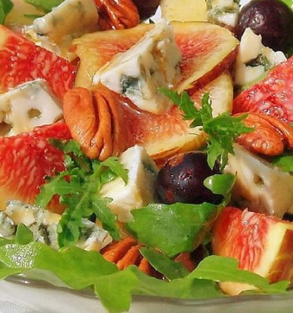 Зеленый салат с сыром (2012)