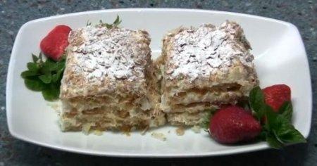 Торт Наполеон, готовим легко и быстро (2012)