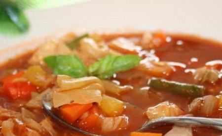 Диетический капустный суп (2015)