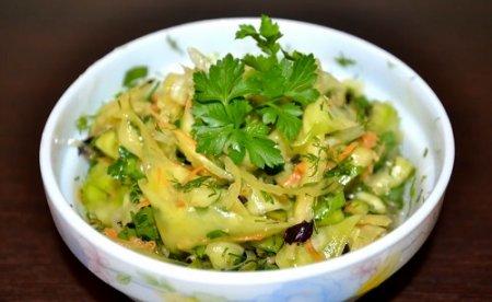 Острый салат из кабачков Спиралька (2015)
