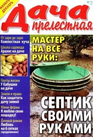 Прелестная дача №11 (ноябрь-декабрь /  2015)