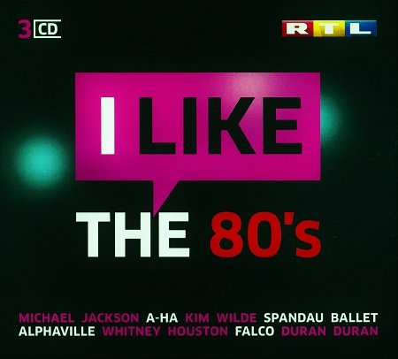 VA - RTL I Like The 80s (2015)