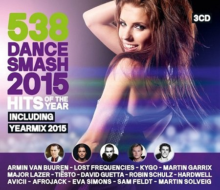 VA - 538 Dance Smash: Hits Of The Year 2015
