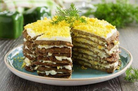 Печеночный торт из говяжьей печени пошагово (2014)