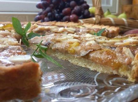 Миндальный пирог с инжиром (2015)