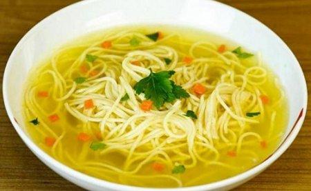 Куриный суп с домашней лапшой (2014)