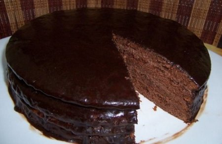Шоколадный торт фото - рецепт