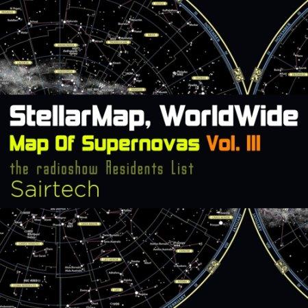 Stellar Map WorldWide - Map Of Supernovas Vol. 3 Sairtech (2015)