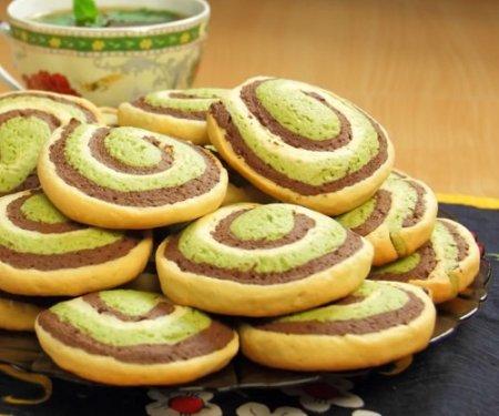 Шокомятки или шоколадно-мятное печенье (2015)