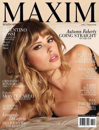 MAXIM №1-2(Январь-февраль 2016) Южная Африка