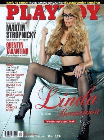 Playboy №1-2 (январь - февраль 2016) Чехия