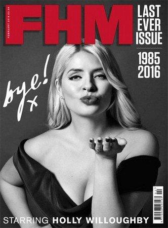 FHM №2 (февраль 2016) Великобритания