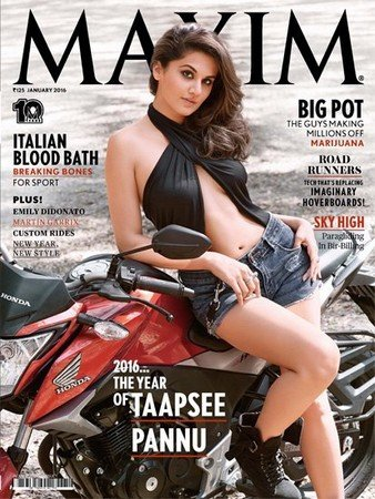 Maxim №1 (Январь 2016) Индия