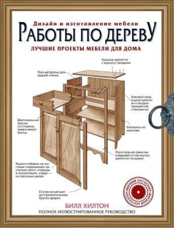 Билл Хилтон - Работы по дереву. Лучшие проекты мебели для дома (2015)