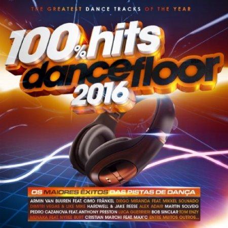 VA - 100 Hits Dancefloor 2016 [2CD] (2016)