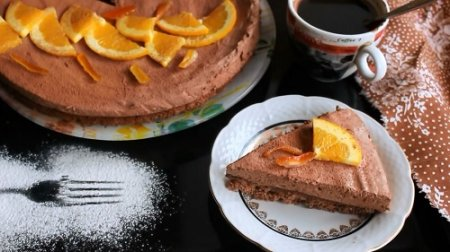 Шоколадный торт мусс (2015)