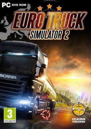 Euro Truck Simulator 2 v. 1.22.2.6s + 29 DLC (2013/PC/RUS) RePack by R.G. xatab