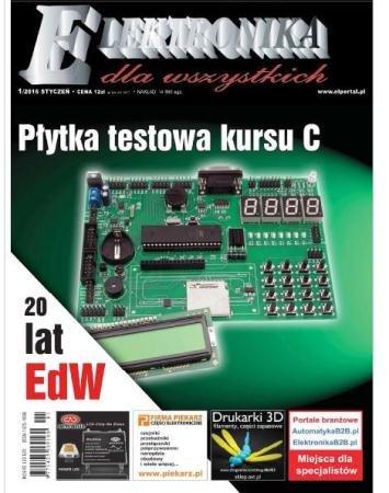 Elektronika dla Wszystkich №1 (январь /  2016)