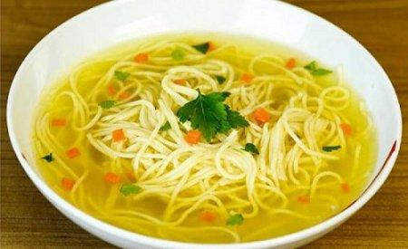 Куриный суп с домашней лапшой (2015)