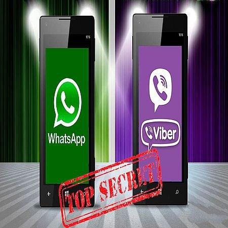 10 полезных и скрытых функций Viber и WhatsApp (2016) WEBRip