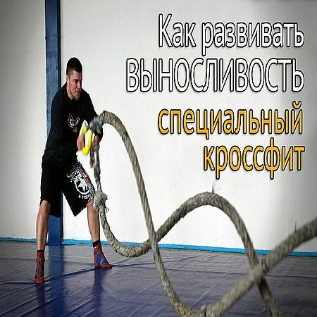 Как развить выносливость - борцовский Кроссфит с канатами (2016) WEBRip