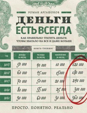 Роман Аргашоков   - Деньги есть всегда. Как правильно тратить деньги, чтобы хватало на все и даже больше   (2016) rtf, fb2