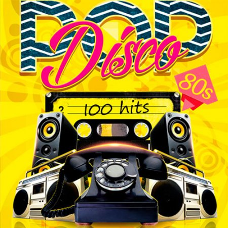 Pop Disco 80s 100 Hits (2016)