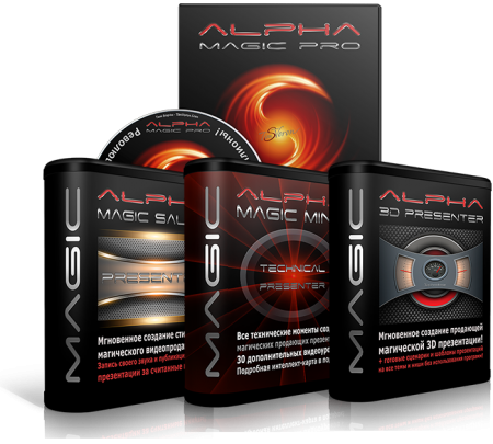 Alpha Magic Presenter