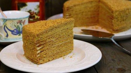 Медовый торт рецепт (2016)