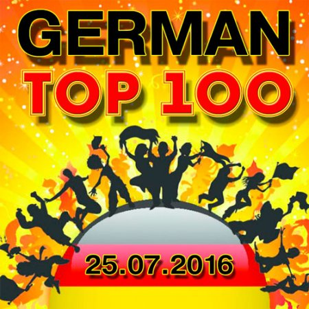 German Top 100 Single Charts 25.07.2016 (2016)