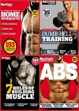 Jon Lipsey, Joe Warner - Men's Fitness Complete Guide + 7 Rules of Building Muscle (4 книги)