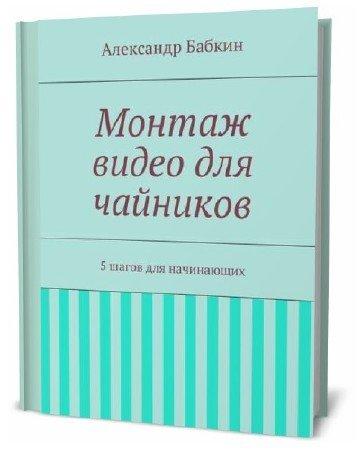 Александр Бабкин. Монтаж видео для чайников. 5 шагов для начинающих