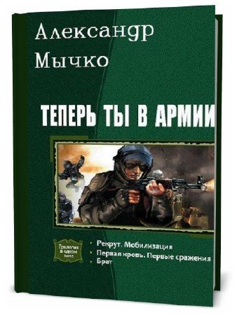 Александр Мычко. Теперь ты в армии. Сборник книг