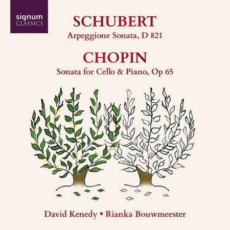 David Kenedy & Rianka Bouwmeester - Schubert Arpeggione Sonata - Chopin Sonata for Cello & Piano (2017) Flac