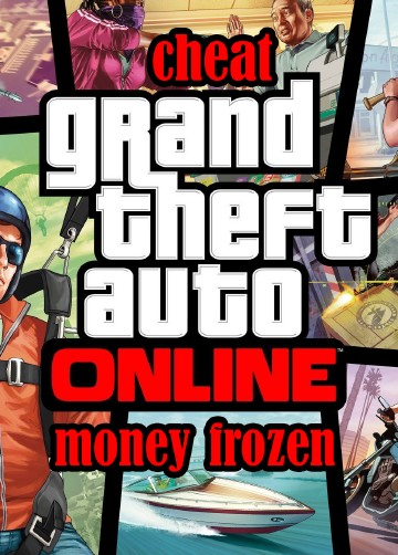 Чит для GTA 5 Online Money frozen v.1.40