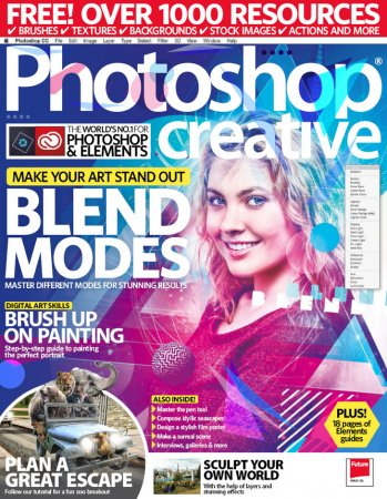Photoshop Creative (Июль 2017) [PDF] [En]
