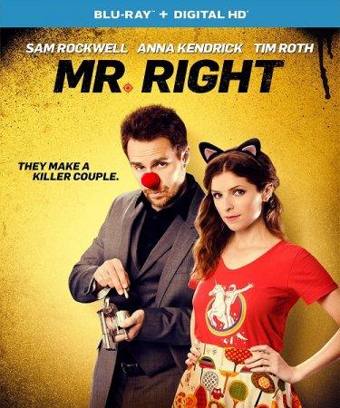Мой парень - киллер / Mr. Right (2015) BDRip 1080p