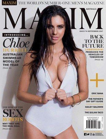 Maxim №9 (Сентябрь 2017) Австралия