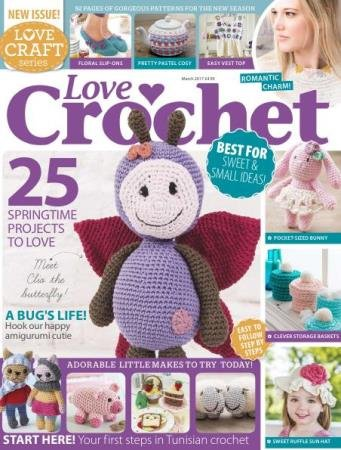 Love Crochet (Love Craft Series) №1, 3, 6, 8, 10  (2017)