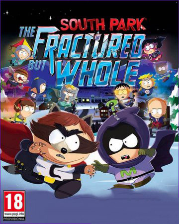 South Park: The Fractured but Whole - Gold Edition (2017/RUS/ENG/RePack by xatab)