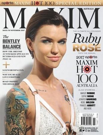 Maxim №11 (Ноябрь 2017) Австралия