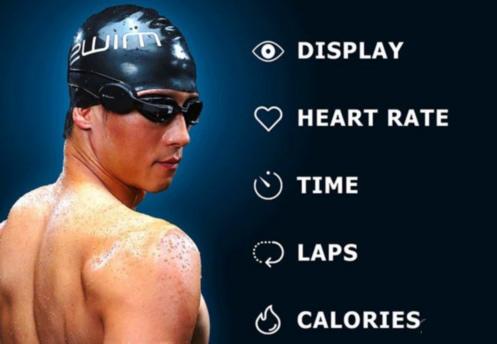 Очки для плавания с функционалом в стиле Google Glass (3 фото + видео)