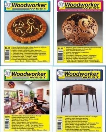 Woodworker West - Подшивка журнала за 2017 год (PDF)