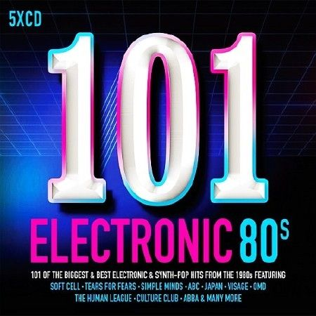 101 Electronic 80s 5CD (2017)