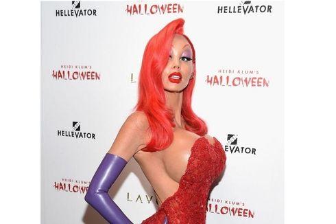 18 раз Хейди Клум создавала лучшие костюмы на Хэллоуин