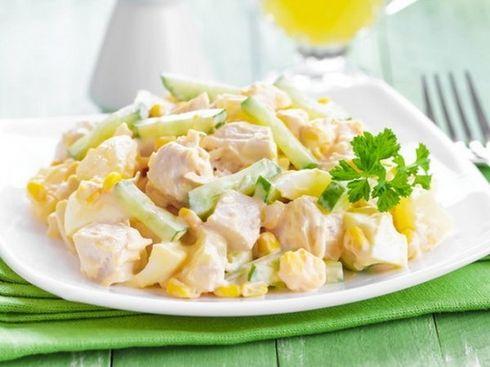5 самых лучших рецептов салатов из курицы